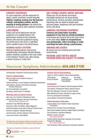 13 14 Vso Allegro Issue 3 By Vancouver Symphony Issuu