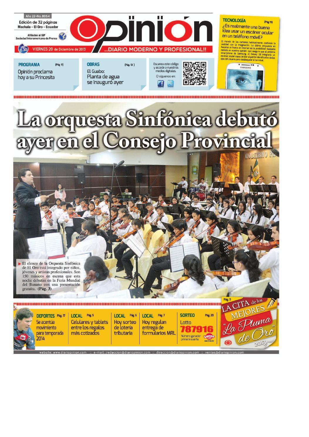Impreso 20 12 13 by Diario Opinion - issuu a84b6db9cd58