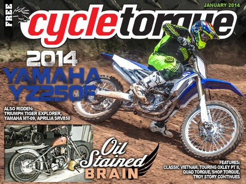 Cycle Torque January 2014