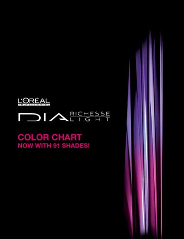 Dia Color Chart 91 Shades By Bird Issuu