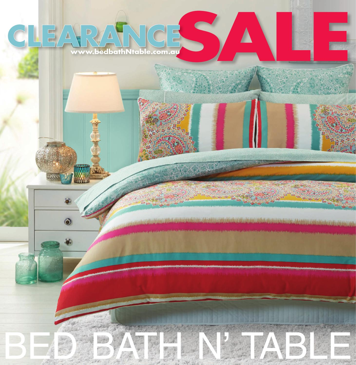 Bed Bath N Table Clearance Sale Catalogue by Bed Bath N Table