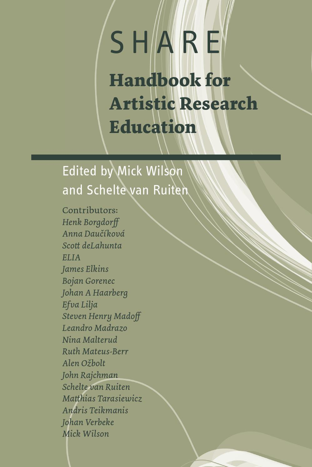 Share handbook for artistic research education by elia european share handbook for artistic research education by elia european league of institutes of the arts issuu fandeluxe Gallery