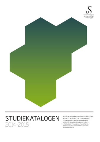 34318200 Studiekatalog 2014 by University of Stavanger - issuu
