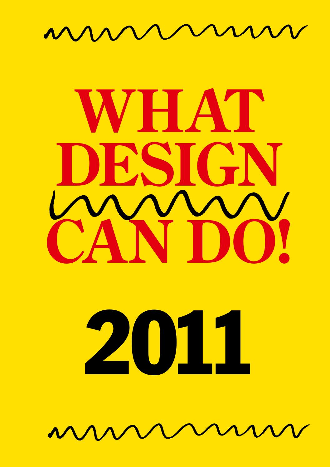 WDCD 2011 What Design Can Do For Access By What Design Can