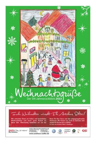 Weihnachtsgrüße Zeitungszusteller.Sn Jahresrückblick 2013 By Schaumburger Nachrichten