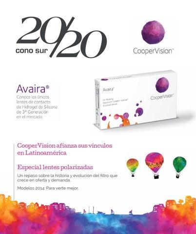 25b3175cf3 CooperVision afianza sus vínculos en Latinoamérica Especial lentes  polarizadas Un repaso sobre la historia y evolución del filtro que crece en  oferta y ...