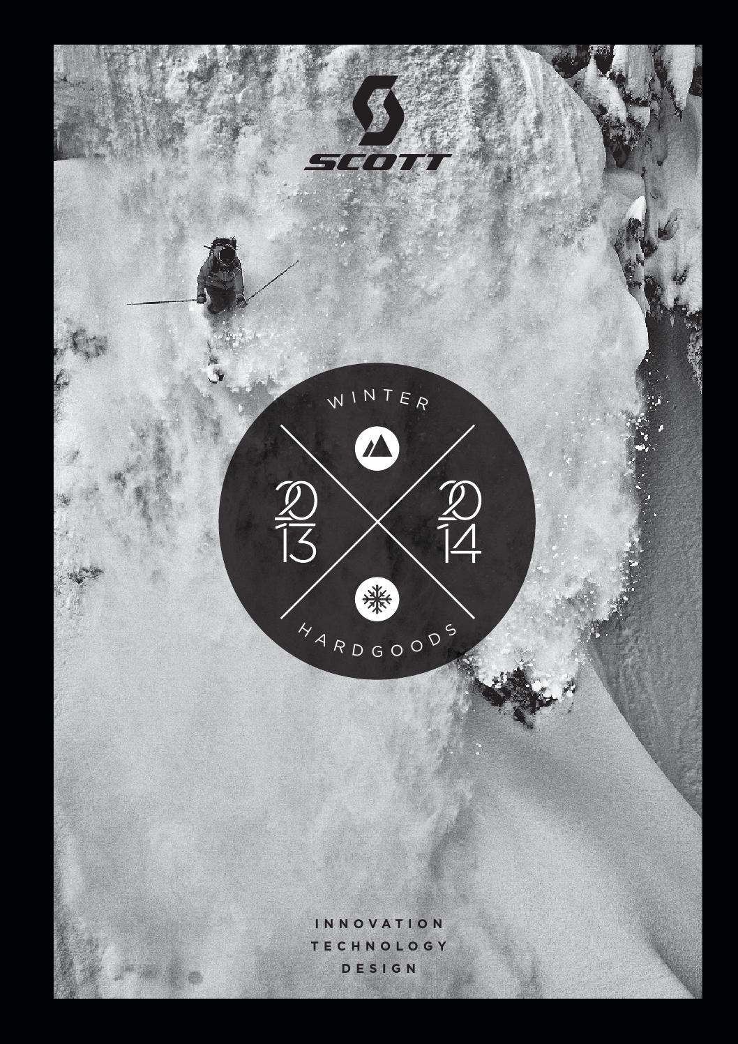 0b3ce352706a Scott Sports 1314 Wintersport Hardgoods Catalog by Mica Sport Canada ...