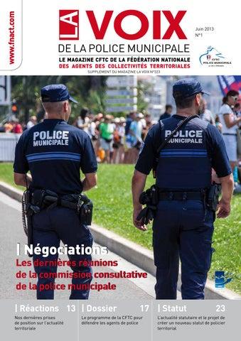 la voix de la police municipale by fnact cftc issuu