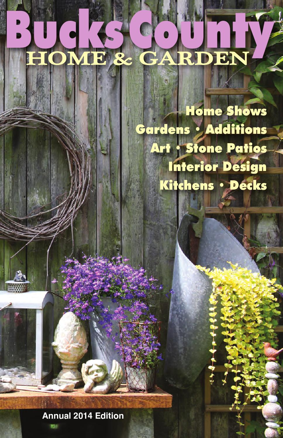Bucks county home garden annual 2014 edition by bcm for Craft shows in bucks county pa