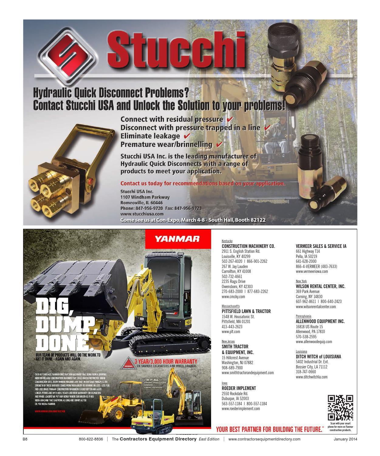 Contractors Equipment Directory