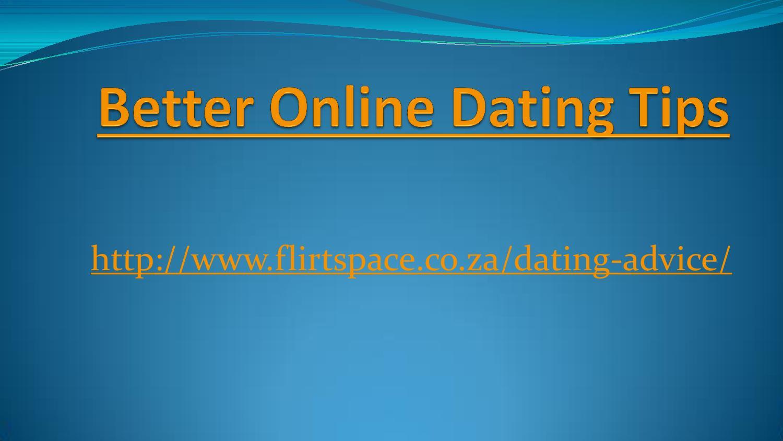 Better Online Dating