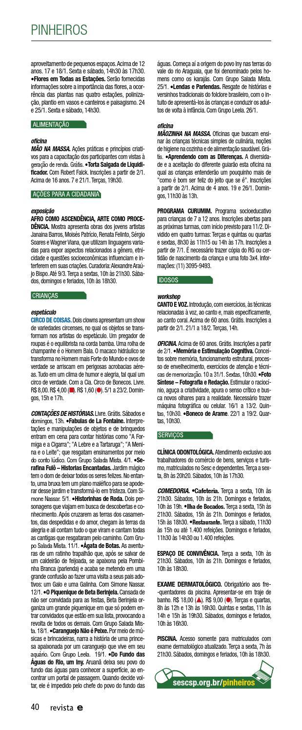 9959b80d4 Revista Em Cartaz | janeiro 2014 by Sesc em São Paulo - issuu
