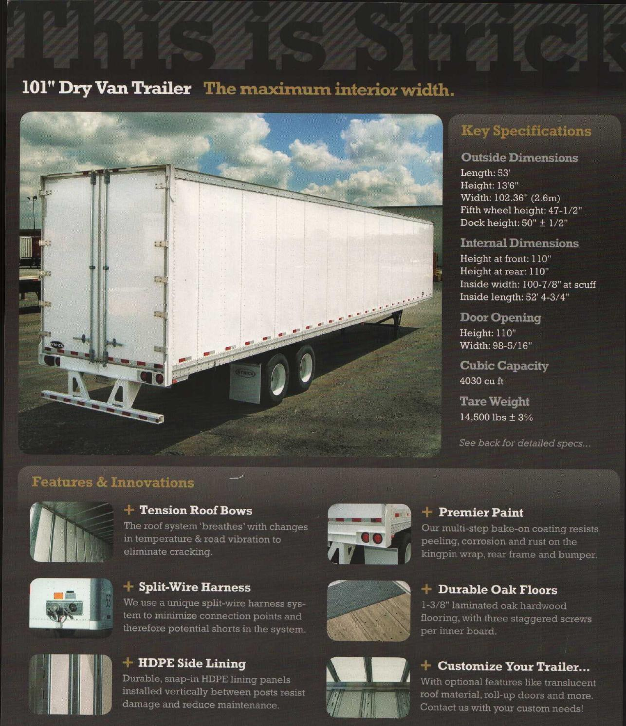 Trailers Dryfreight Strick101 By Anjerinc Issuu Fifth Wheel Trailer Wiring Harness