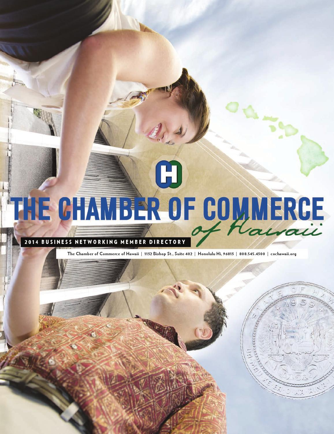 82e47a8e5f The Chamber of Commerce of Hawaii 2014 Directory by COCHawaii - issuu