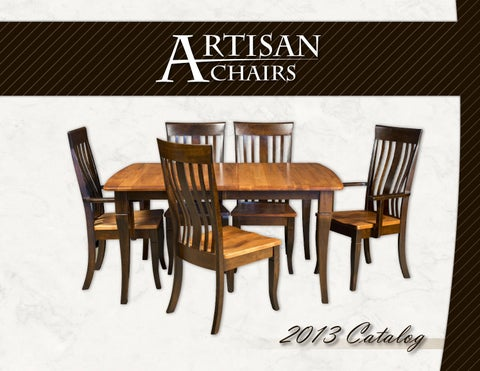artisan chairs catalog chairs e u0026 g amish furniture