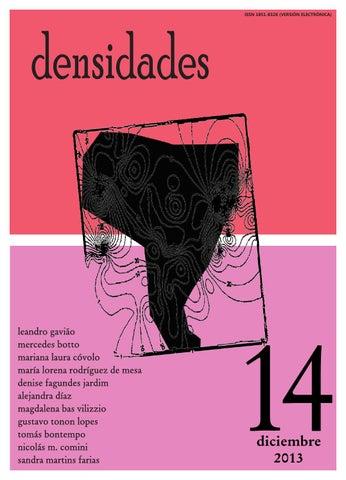 Densidades N14 By Revista Densidades Issuu