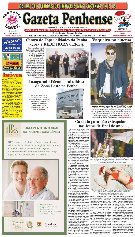 cc0c11a248 22 12 13 a 11 01 14 - edição 2155 - Gazeta Penhense by Marcelo Cantero -  issuu