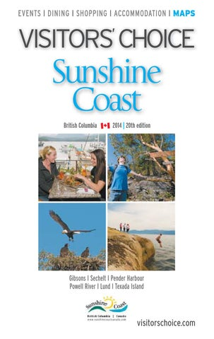 0b73d4f53e Visitors' Choice Sunshine Coast 2014 by Business in Vancouver Media ...