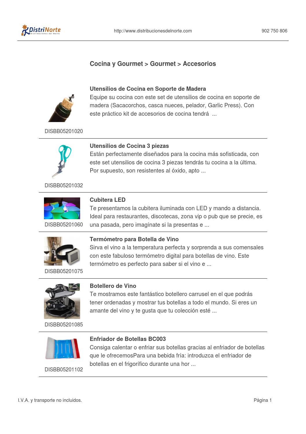 Catálogo en stock 19/12/2013 by Distrinorte - issuu