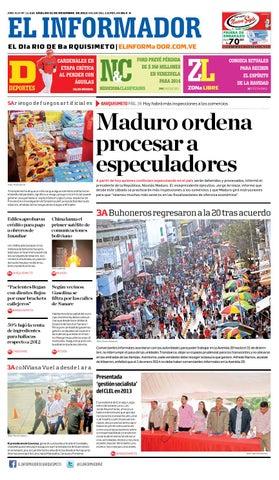 2e20823e491a El informador 21 12 2013 by El Informador - Diario online Venezolano ...