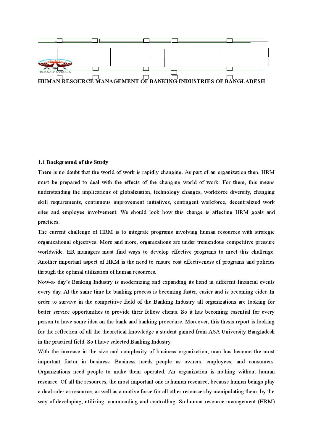 Human Resource Management Practices in Bangladesh: Current Scenario and Future Challenges