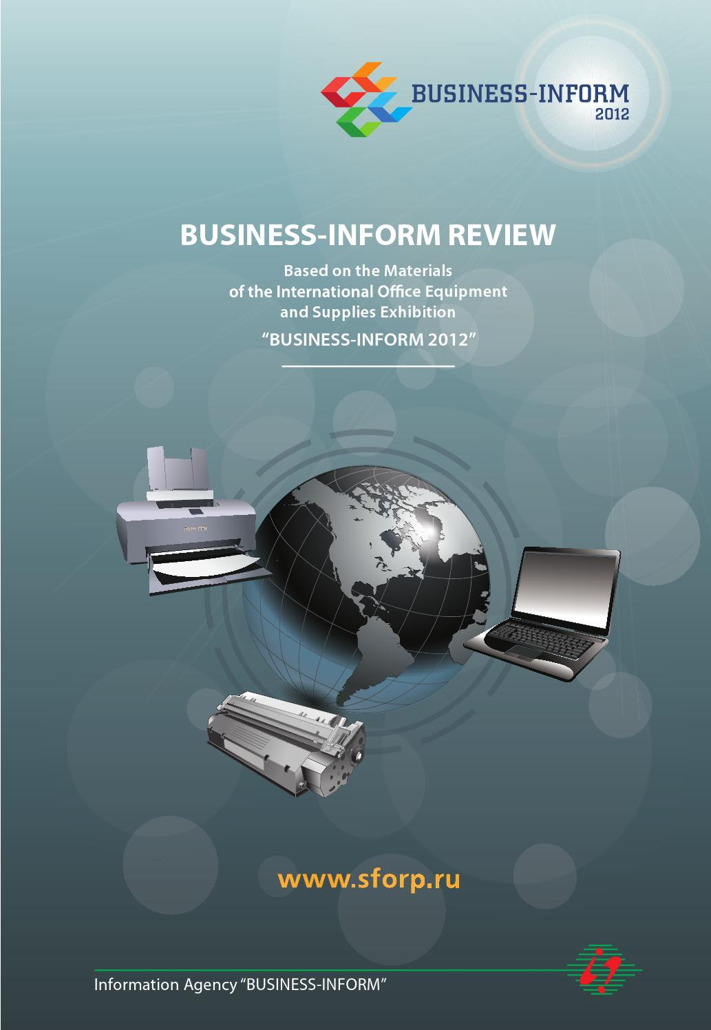 BUSINESS-INFORM REVIEW #1, 2012 by Business-Inform - issuu