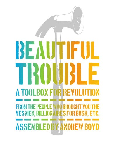 cc40617468 Boyd Andrew ed Beautiful Trouble A Toolbox for Revolution by ODA ...