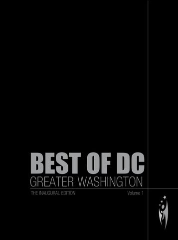 Best Of Dc Greater Washington Volume 1 By Sven Boermeester Issuu