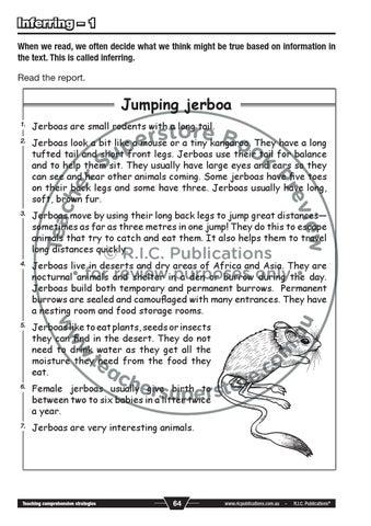 Teaching Comprehension Strategies Book B