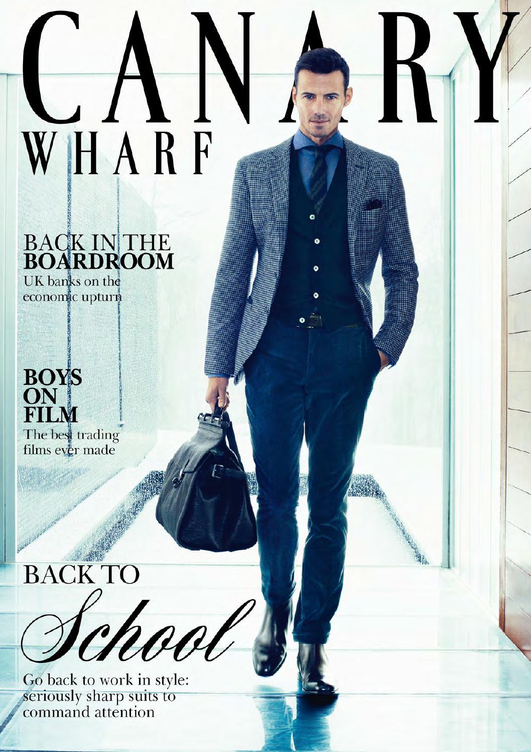25549fa90cb Canary Wharf Magazine January 2014 by Runwild Media Group - issuu