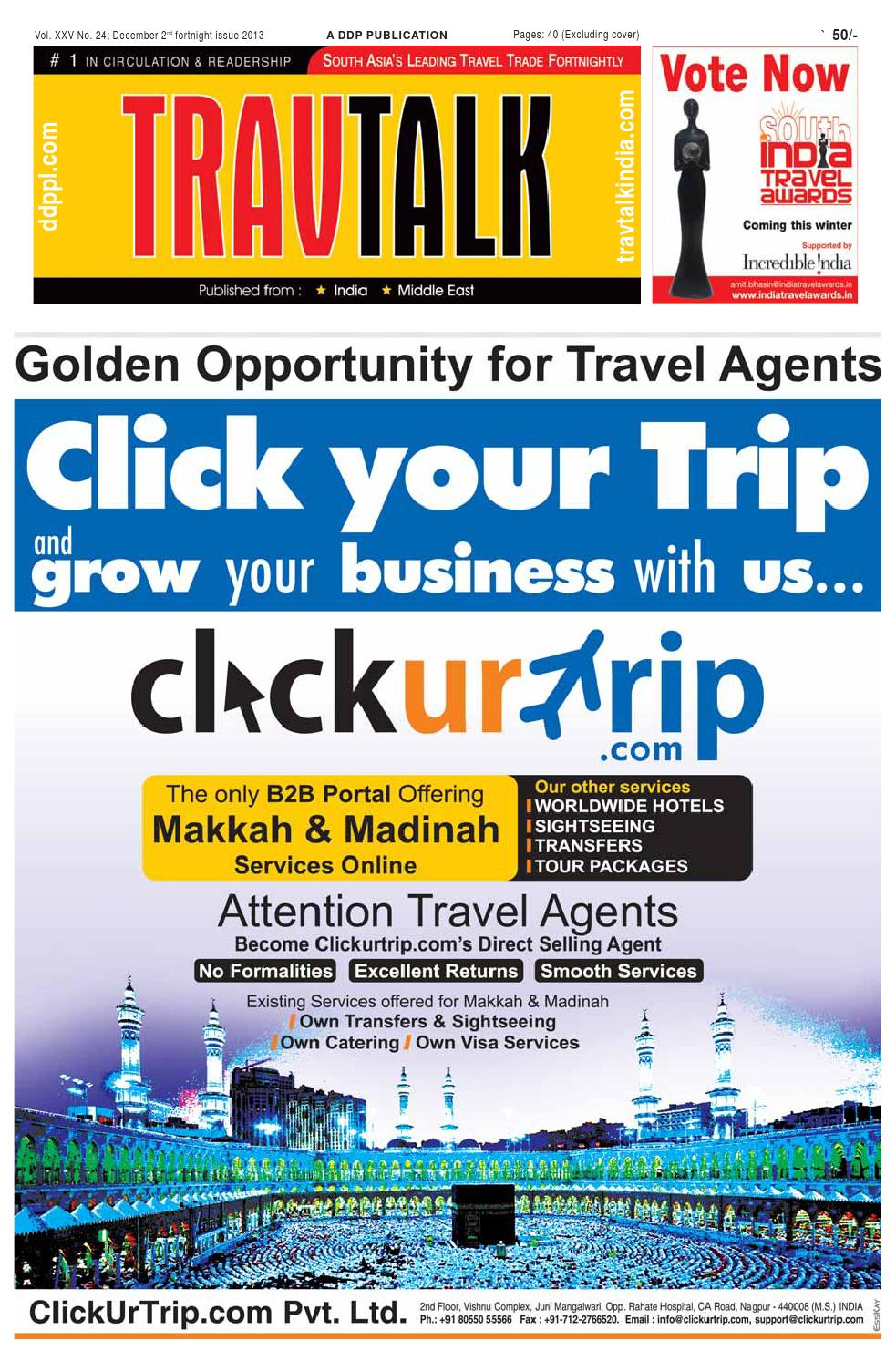 B2b Travel Agents In India