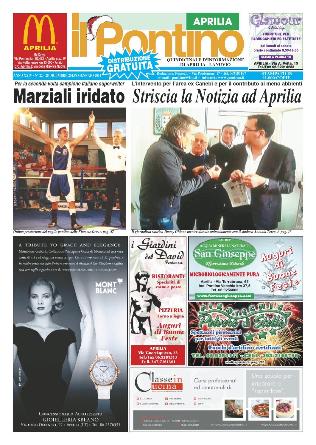 Il Pontino Aprilia n. 22 2013 by Il Pontino Nuovo 8b9fde9e2099
