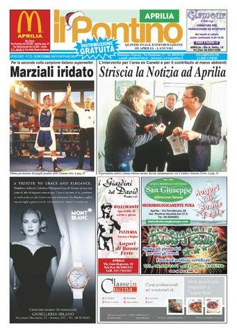 b6497613db Il Pontino Aprilia n. 22 2013 by Il Pontino Nuovo