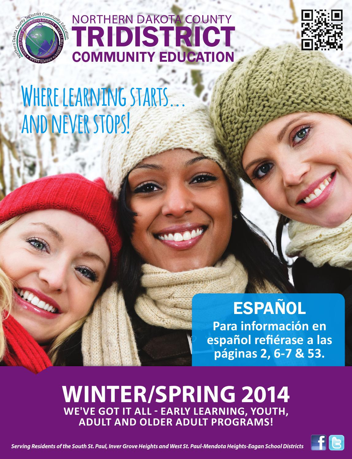 6f51518996c Winter Spring 2014 TriDistrict Community Ed Catalog by TriDistrict ...