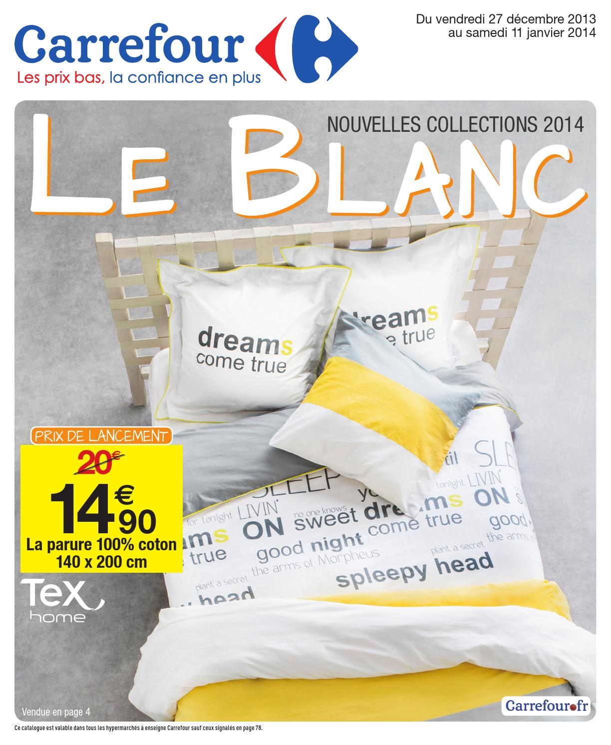 Bien-aimé Catalogue Carrefour - 27.12.2013-11.01.2014 by joe monroe - issuu RP02