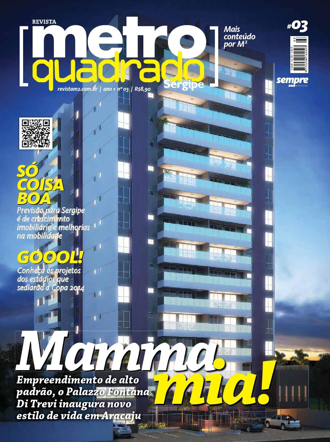 85885cba2 Metro Quadrado Sergipe - Ed. 03 by Revista Alpha Fitness - issuu
