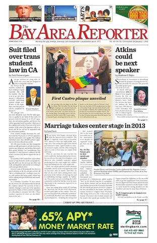 December 26 2013 Edition Of The Bay Area Reporter By Bay Area