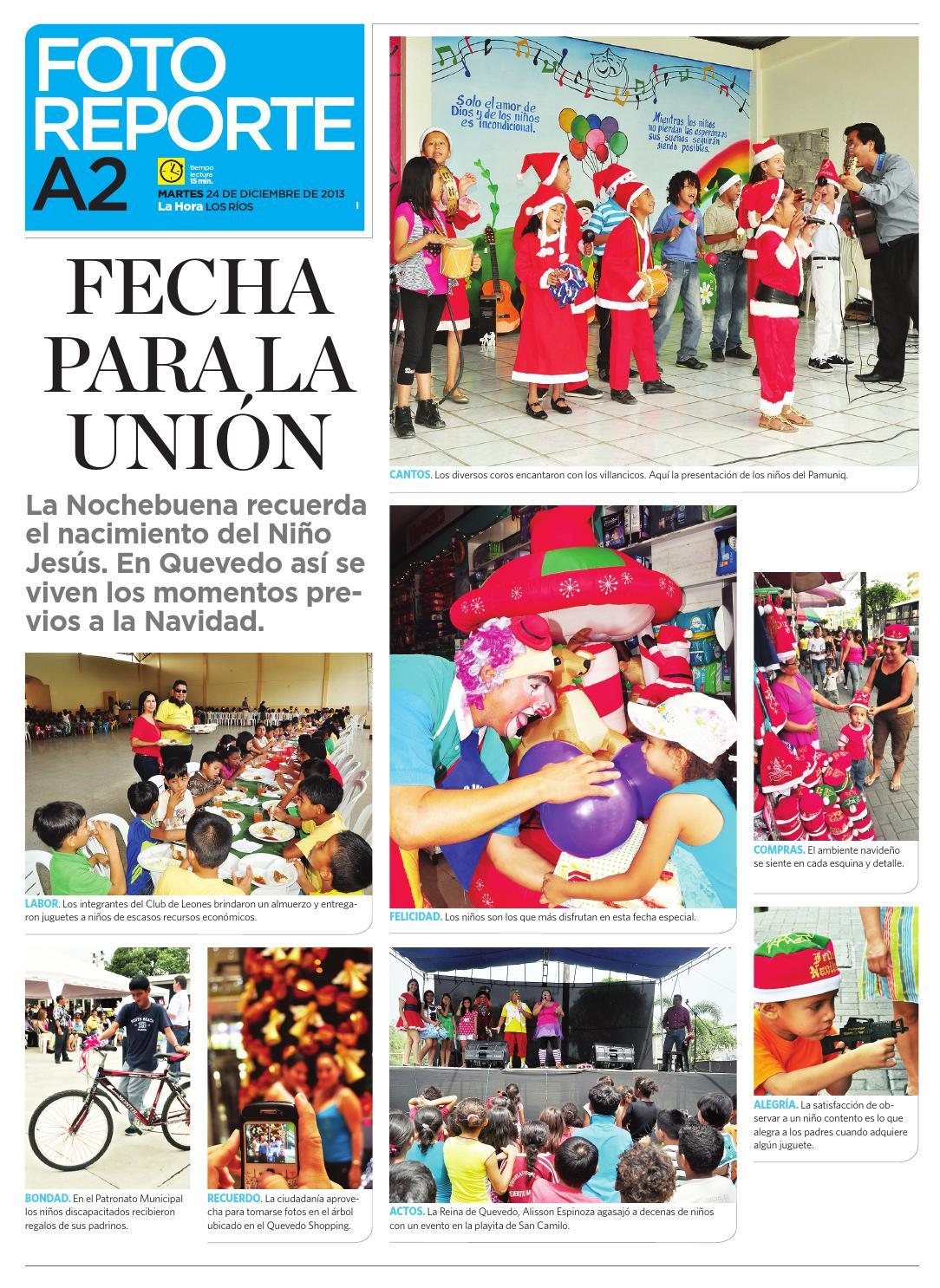 La Hora Issuu De Diario 24 Los By Ecuador 2013 Rios Diciembre dtsrChQ
