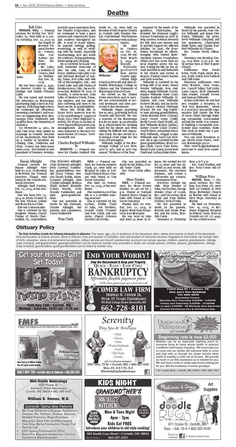 122413 daily corinthian by Daily Corinthian - issuu