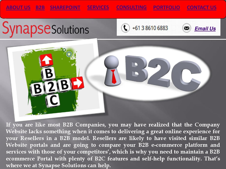 B2b & b2c ecommerce development company, australia