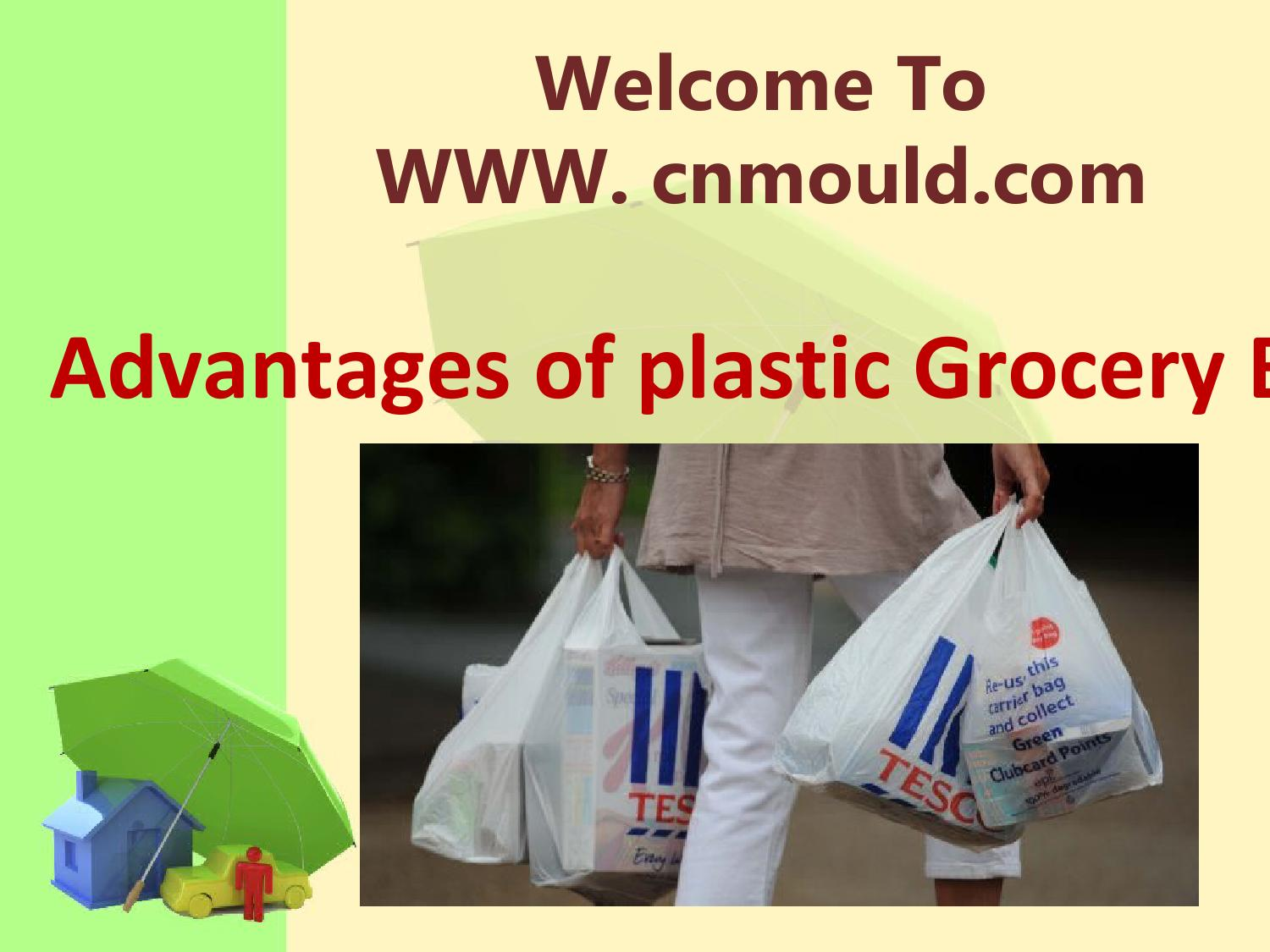 Advantages Of Plastic Grocery Bags By SINO MOULD