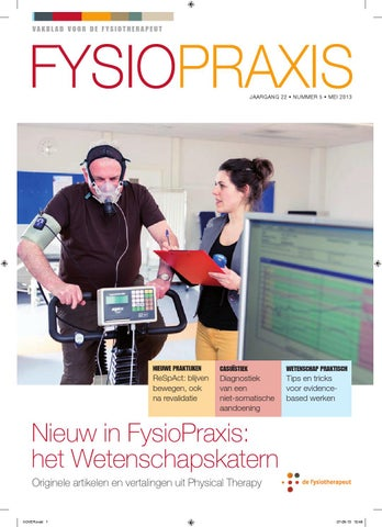 56ef2e50fd4 FysioPraxis 10 december 2016/ januari 2017 by KNGF de Fysiotherapeut - issuu
