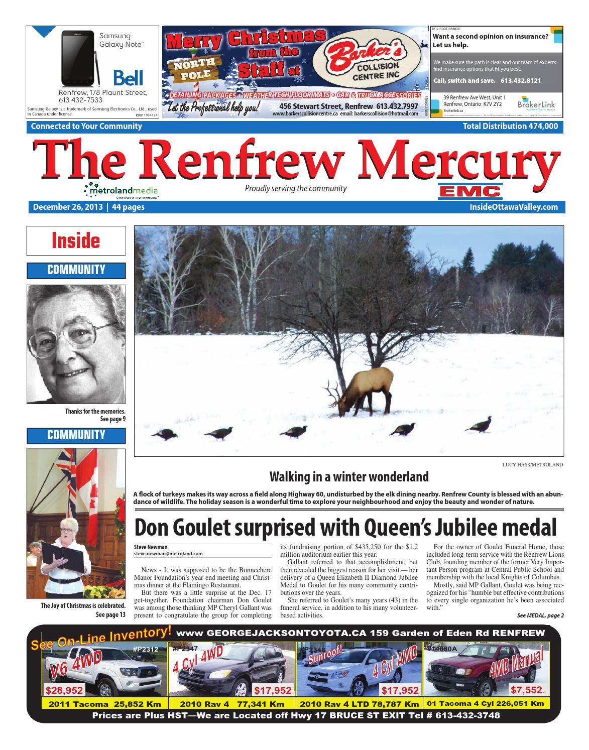 Renfrew122613 by metroland east renfrew mercury issuu fandeluxe Image collections