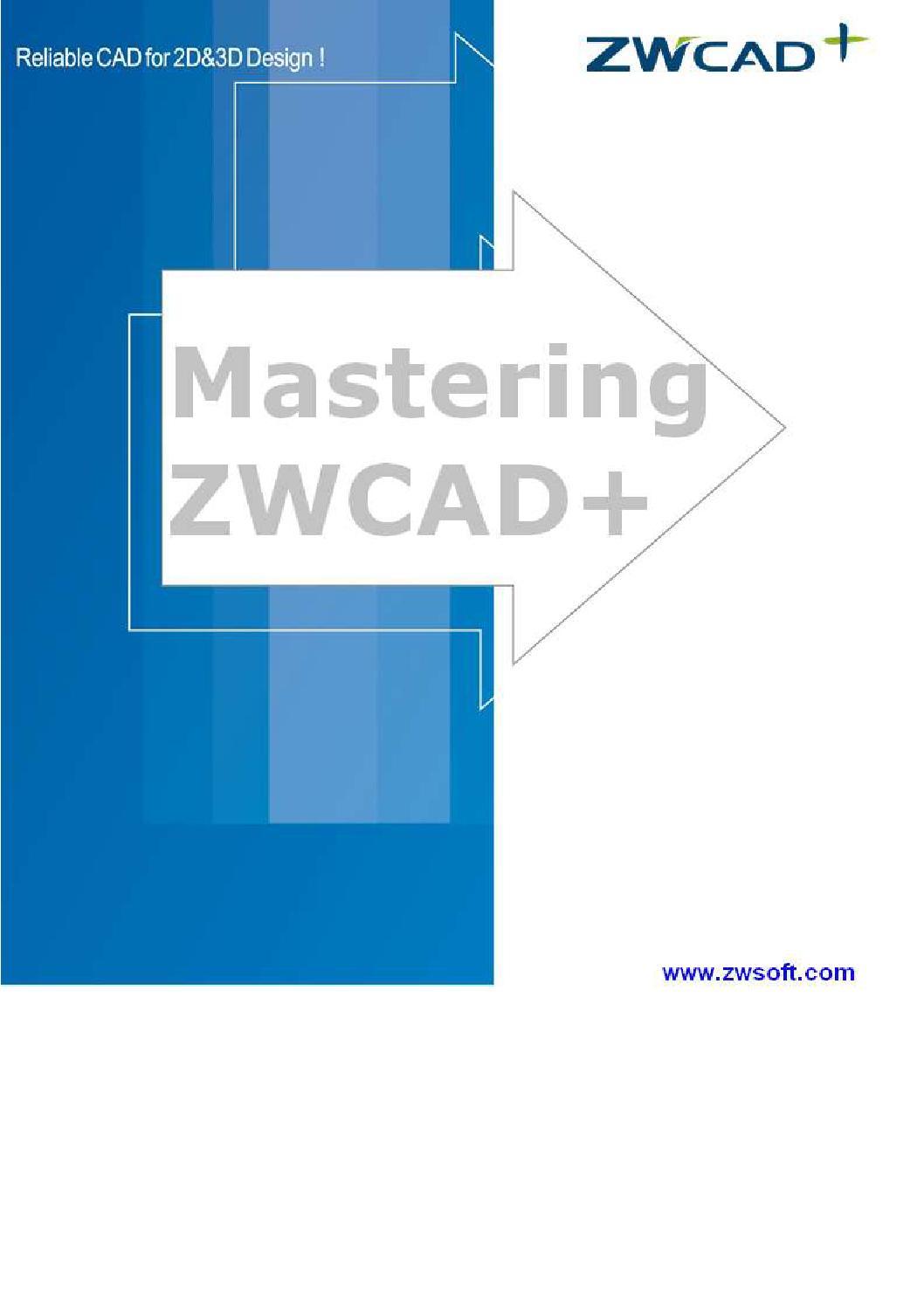 ZWCAD+ Manual 2014