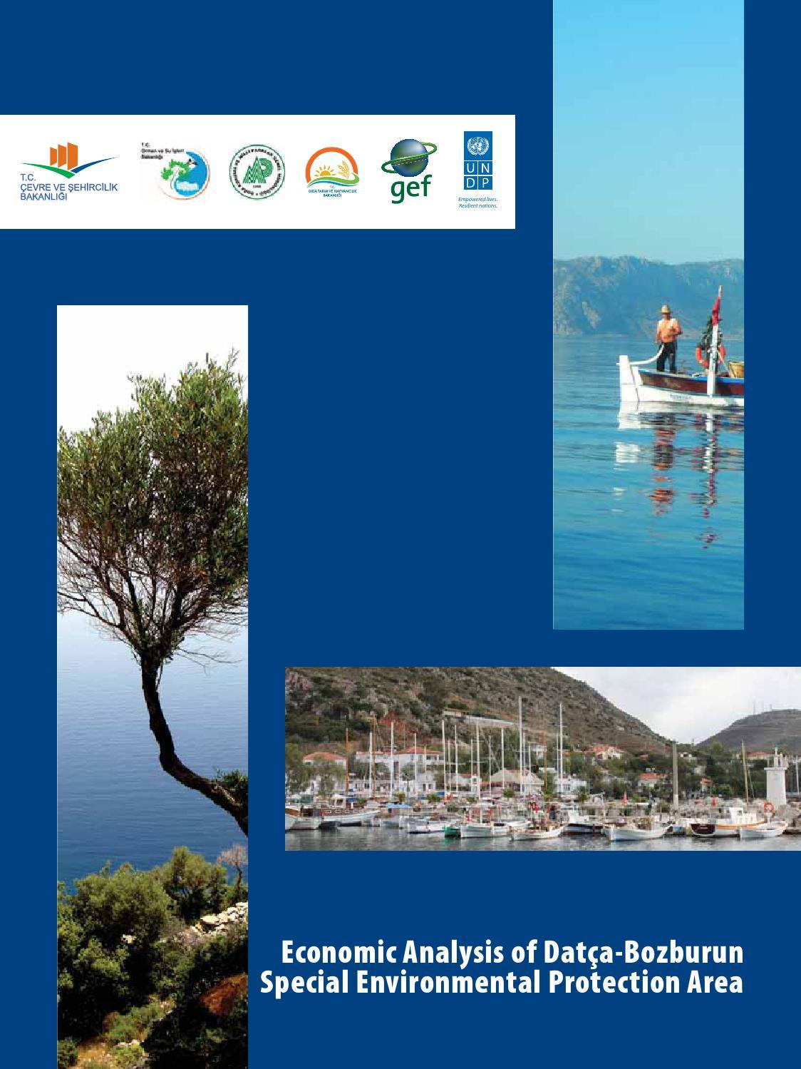 Economic Analysis Of Datca Bozburun Special Environmental