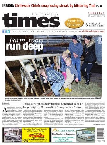 Chilliwack Times, December 26, 2013 by Black Press Media