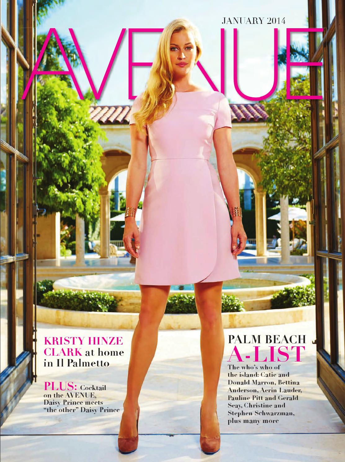 Avenue January 2014 by Manhattan Media - issuu