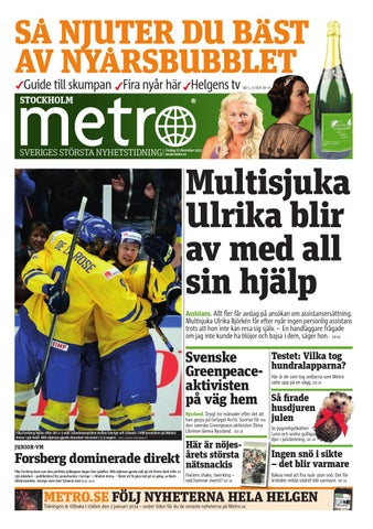 20131227 se stockholm by Metro Sweden - issuu abd8f371a5574