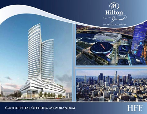Hilton grand offering memorandum 2013 1 clients eb5 by for Real estate offering memorandum template