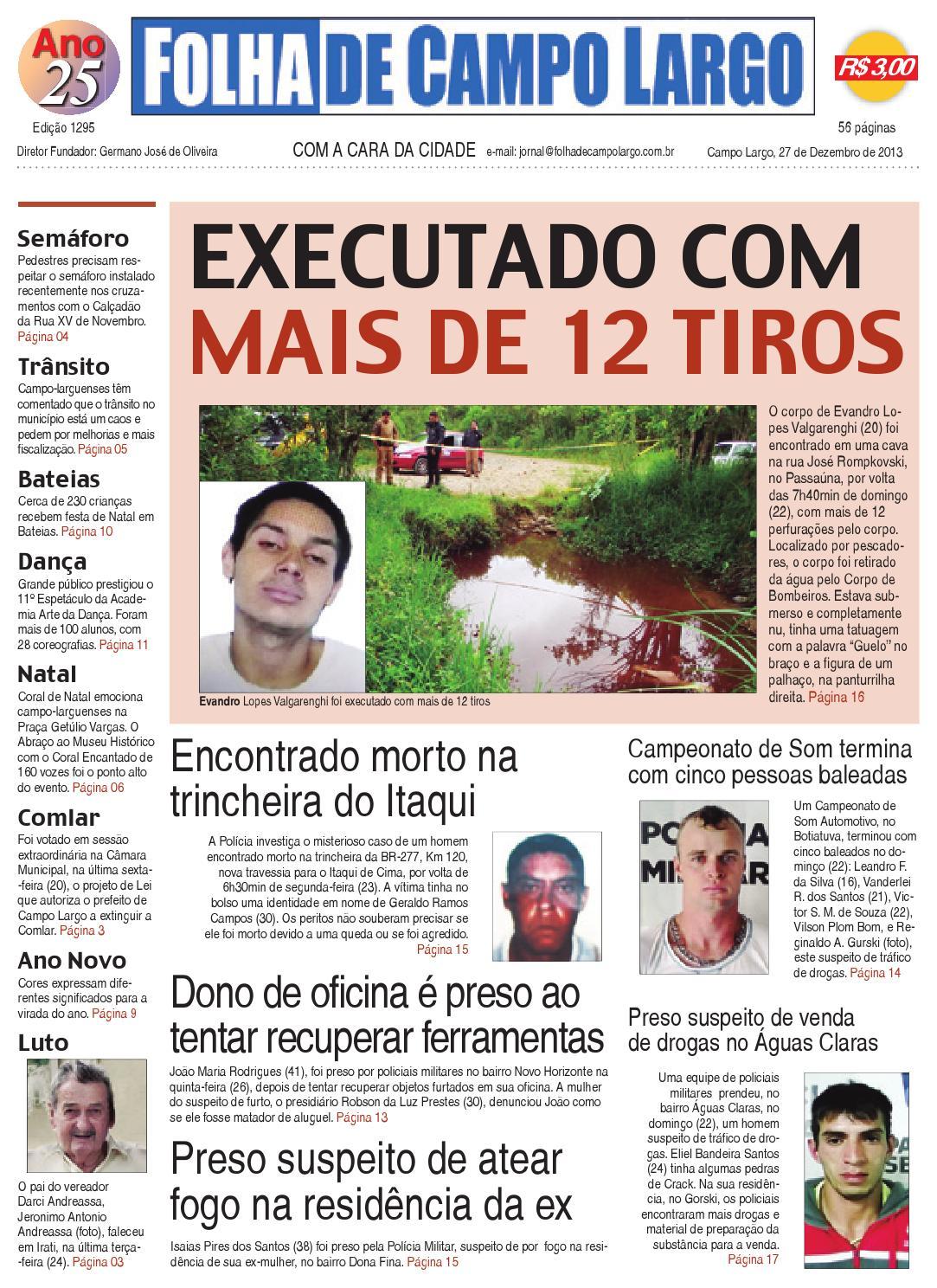 e71420b66d732 Folha de Campo Largo by Folha de Campo Largo - issuu